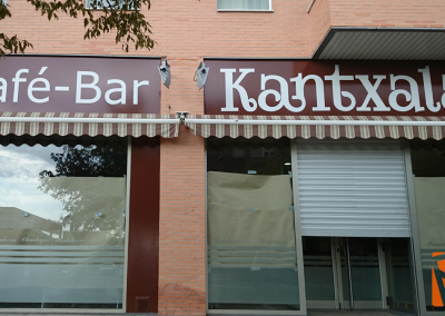 Rotulacion Exterior Naves Café Bar BERRIOZAR