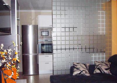 Vinilo decorativo cristal separación CUADROS