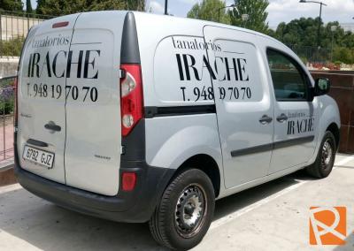 Rotulación-furgoneta-IRACHE