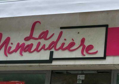 Letras corpóreas LaMinaudière ITURRAMA
