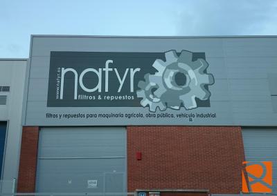Rotulacion Exterior Naves NAFYR