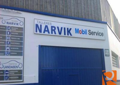 Rotulacion Exterior Naves NARVIK