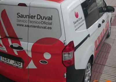 Rotulación-Furgoneta-SAUNIER_DUVAL
